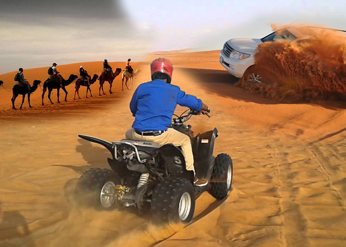 Quad Bike riding - Desert safari dubai